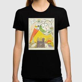 Le Dimanche (On Sundays) from Marc Chagall, 1954 Artwork Derrière le Miroir Magazine, tshirt, tee, j T-shirt