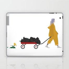 Billie Eilish Bellyache Laptop & iPad Skin