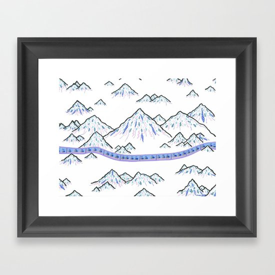 Pilgrimage  Framed Art Print