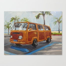 Woody Canvas Print