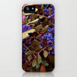 Alien landscape autumn berry surreal plants iPhone Case