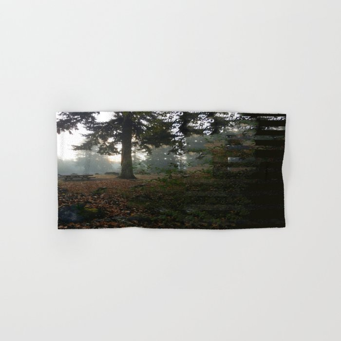 Divided In Fall (There Are No Picnics Here) Hand & Bath Towel