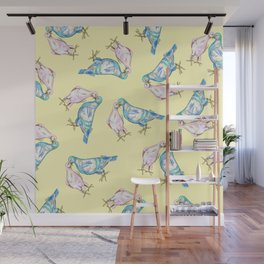 Love Birds Wall Mural