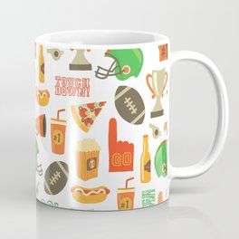 American Football pattern Coffee Mug