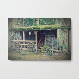 back in the days Metal Print