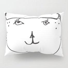Hi, I'm Cat. Pillow Sham