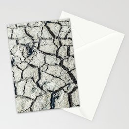 Parched land of Camargue Stationery Cards