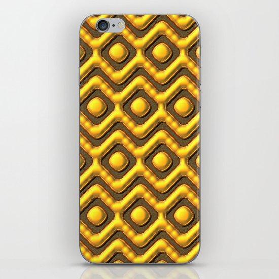 Liquid Gold Pattern iPhone & iPod Skin