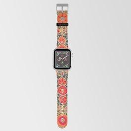 Kermina Suzani Uzbekistan Print Apple Watch Band