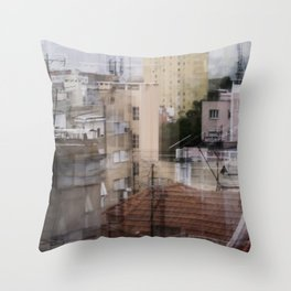 Deconstruction #18 Throw Pillow
