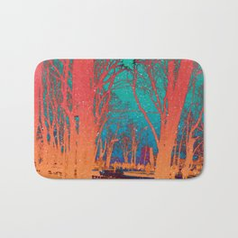 Sanctity in the Trees Bath Mat
