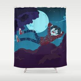 Marshall lee Shower Curtain