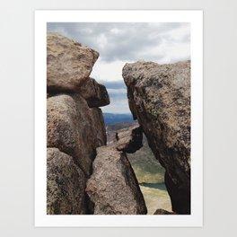Mt. Evans Summit Art Print