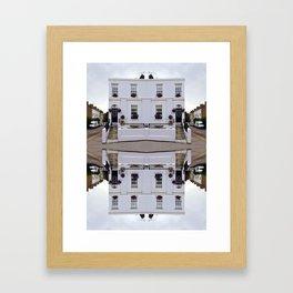 Architectural Illustration Framed Art Print