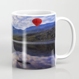 Balloon Flight At Sunrise Coffee Mug