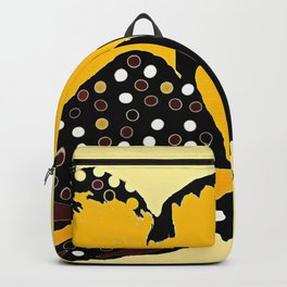 Yellow Butterfly Backpack