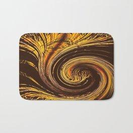 Golden Filigree Germination Bath Mat