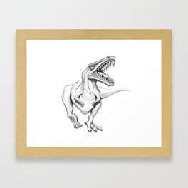 Shoot Haaa Framed Art Print