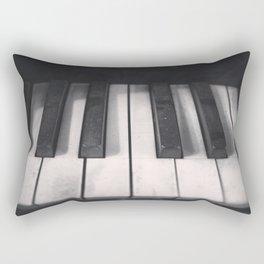 Tickle The Ivories Rectangular Pillow