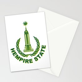 Hempire State Building Stationery Cards