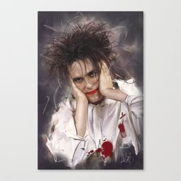Robert Smith - The Cure Canvas Print