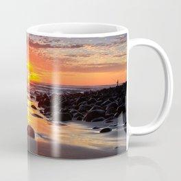 Evening Sunset Surfing Coffee Mug
