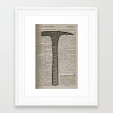 The Shawshank Redemption: Salvation lies within Framed Art Print