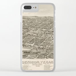 Denison 1886 Clear iPhone Case