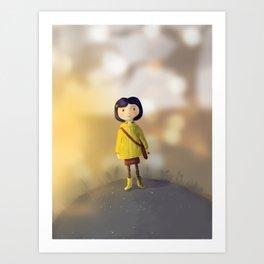 """Coraline"" Art Print"