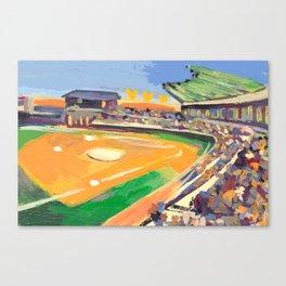 LSU Softball Canvas Print