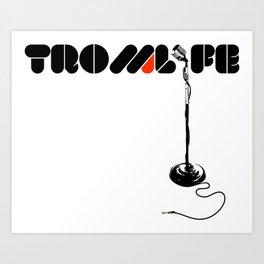 TROMLIFE Microphone Art Print