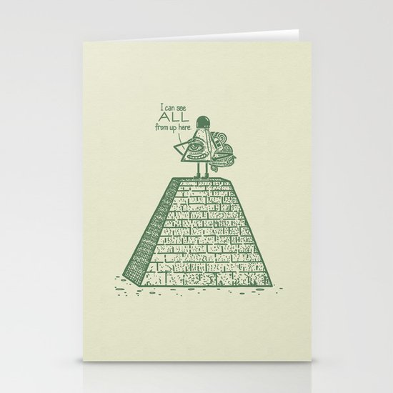 I See ALL Stationery Cards