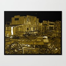 Whats left in the West Canvas Print