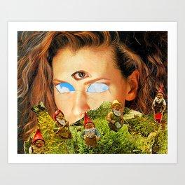 """Reflect"" Art Print"