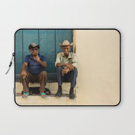 Two old Cuban men Laptop Sleeve