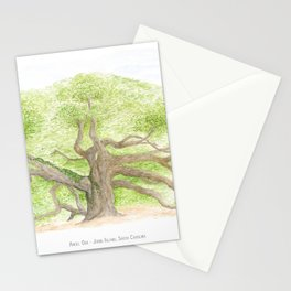 Angel Oak Stationery Cards