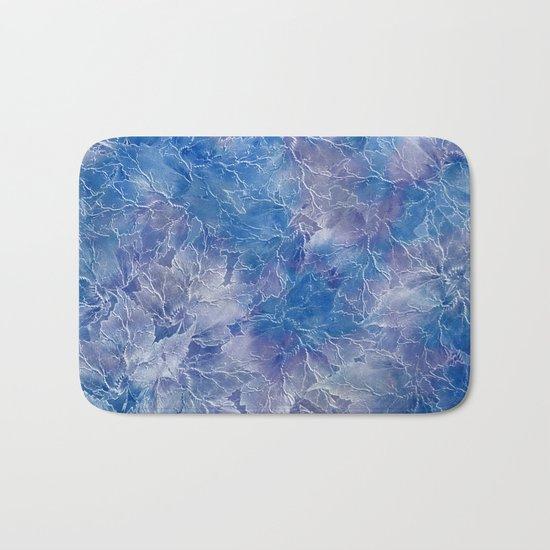 Frozen Leaves 11 Bath Mat