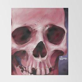 Skull 8 Throw Blanket