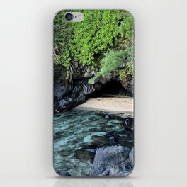 turtle caves close up iPhone Skin