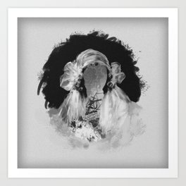 Bride IV Art Print