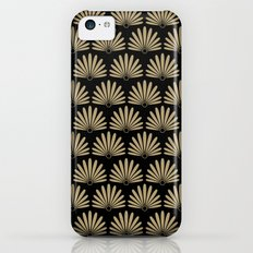 Tan & Black Daisies iPhone 5c Slim Case
