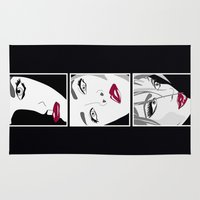 women Area & Throw Rugs featuring Women by Céline Solmini