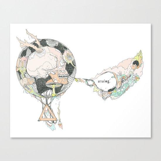 ANALOG (mod)  ZINE  Canvas Print