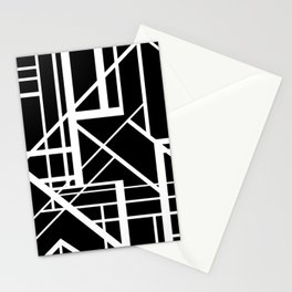 Roadway Of Abstraction - Interstate Abstract Path Stationery Cards