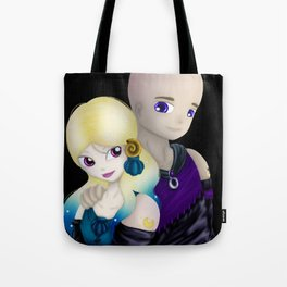 MoonMirror and CrescentCleft Tote Bag