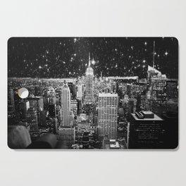 Starry Night in New York Cutting Board