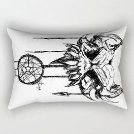 nightmare attractor Rectangular Pillow