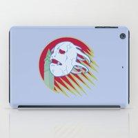 castlevania iPad Cases featuring VAMPIRE KILLER - CASTLEVANIA - JOJO by Mirco Greselin