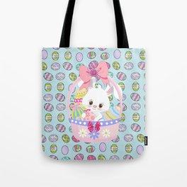 Easter Bunny Easter Basket Tote Bag