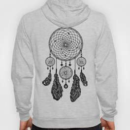 Dreamcatcher (Black & White) Hoody